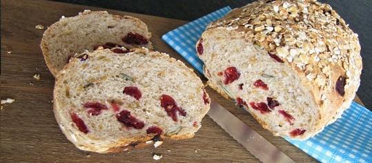 Cranberry-Brot
